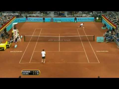 A Fake No Look Shot - Roger Federer Genius.flv