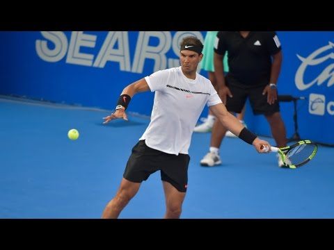 Watch Highlights: Nadal, Querrey & Kyrgios At Acapulco 2017 Thursday