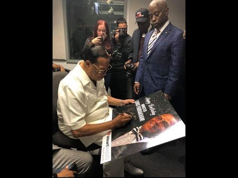 The Honorable Minister Louis Farrakhan is on WGCI 107.5 Chicago