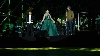 Александр Сметанин, Зарина Алтынбаева и Стефано Ла Колла