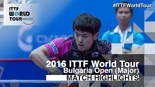 2016 Bulgaria Open Highlights: Adrien Mattenet vs Mizuki Oikawa (R16)(Review all the highlights from the Adrien Mattenet vs Mizuki Oikawa (R16) match from the 2016 Bulgaria Open Subscribe here for more official Table Tennis ..., 2016-08-27T15:52:28.000Z)