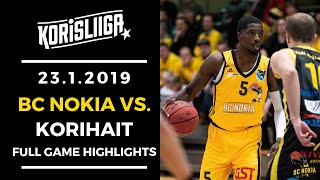 BC Nokia vs Korihait Full Highlights 23 1 2019