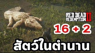16 + 2 สัตว์ในตำนาน Legendary Animals  : Red Dead Redemption 2