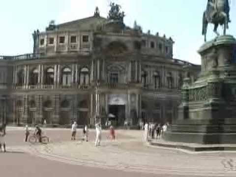 Sightseeing in Dresden, Germany