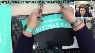 chalk couture Christmas tree farm