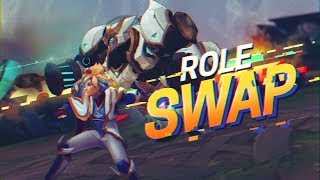 Doublelift - ROLE SWAPPING WITH MY SUPPORT