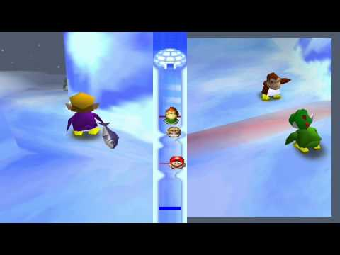 Mario Party 2 Mini Games - Filet Relay