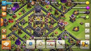 Clash of Clans-3 Star any TH9 base with LOW LEVEL HEROES and w/o CC Troops|GOVAHO|Universal Clash™|