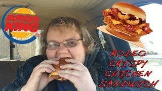 BK Rodeo Chicken Sandwich