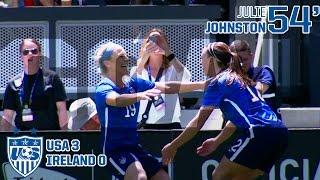 WNT vs. Republic of Ireland: Julie Johnston Goal - May 10, 2015