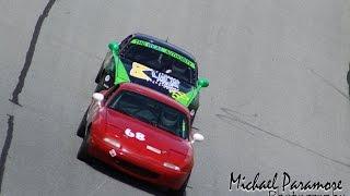 Jason Shulko bump drafting daytona speedway SCCA #2