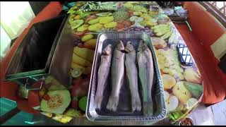 Горячее копчение рыбы(судак) по-брянски