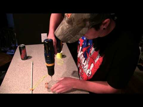 how to make a fishing bow
