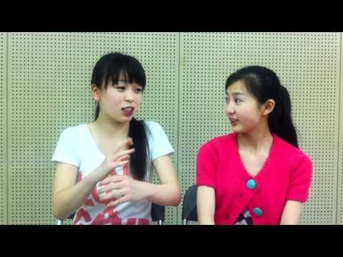 ルルの海 出演中の 西尾瑠衣ちゃん(ルル役)と寺下怜見ちゃん(カナ役)の リアル女子高生の2人が、今回の作品について話してます!