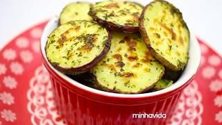 Batata Doce deliciosa – Temperada e super crocante