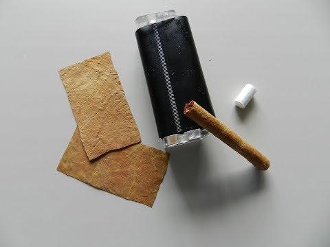 Изготовление сигарилл в домашних условиях