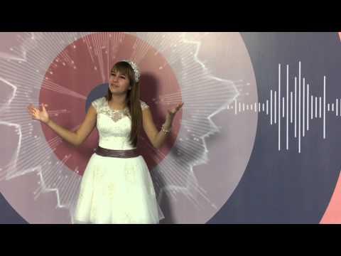 Алиса Семчук на съемках программы На своей волне
