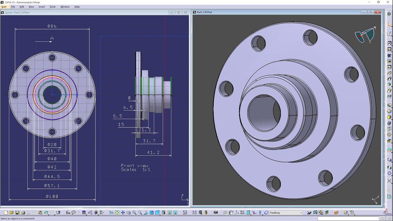 CATIA - 2D Layout for 3D Design