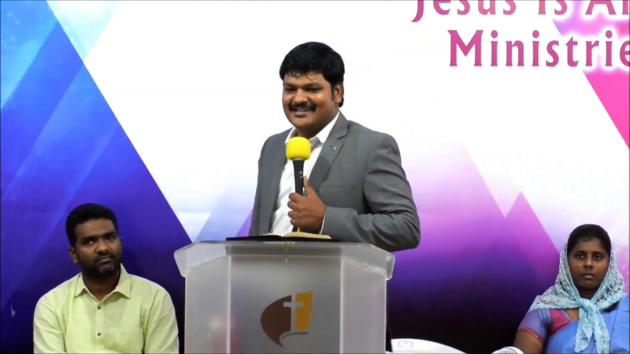 A Motivational Sermon by Rev R  Madhan Raj (Academic Dean @ Madras  Assemblies of God Bible College)