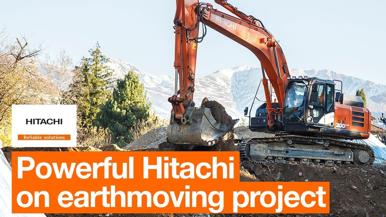 Hitachi ZX300LCN-6 proves powerful on important earthmoving project