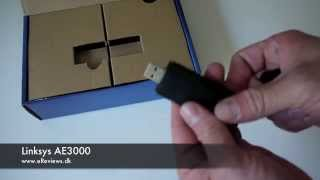 Linksys AE3000 Unboxing