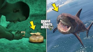 I'm the first who found this underwater Golden Peyote in GTA 5! (Megalodon Shark Plant Location)