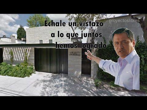 La Casa Blanca de Osorio Chong en las Lomas de Chapultepec