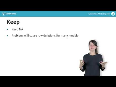 R tutorial: Missing data and coarse classification