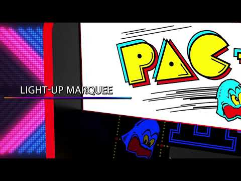 Arcade1Up PAC-MAN Legacy Edition with Riser - Smyths Toys from Smyths Toys Superstores