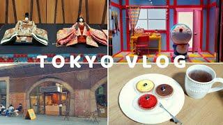 [Tokyo Vlog EP.5] 도쿄일상/구찌 도라에몽…