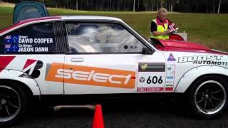 V8 Cars - Holden Torana Standing Start - Targa Tasmania 2011 Australia
