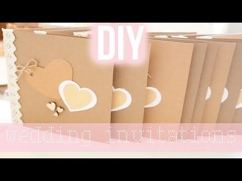 DIY Rustic Wedding Invitations (Easy) | Frankie Amelia