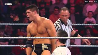 Shane McMahon vs Cody Rhodes. Highlights.