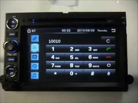2008 ford edge radio
