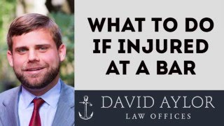 What To Do If Injured At A Bar | Charleston Personal Injury Lawyer (843) 577-5530