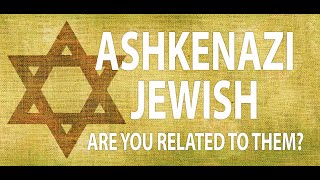 Ashkenazi Jewish | Are You Related to Them? | Genealogy Gold Podcast Do you have Ashkenazi Jewish DNA? This can be an exciting journey for you. Today, I'll talk about who the Ashkenazi people are and what it means for your ..., From YouTubeVideos