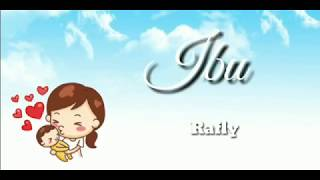 Lirik lagu IBU (Rafly Aceh) | ost Hafalan Surat delisa