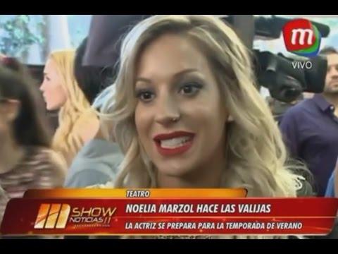Noelia Marzol - MShow Noticias (Magazine) 15/12/2016