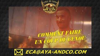 COMMENT METTRE UN COUP DE GENOU AU CATCH #EcoleDeCatchAya #CatchFrance