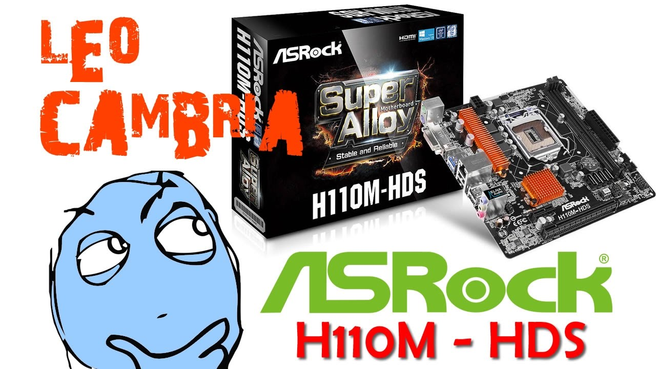 Driver for ASRock H110M-HDS