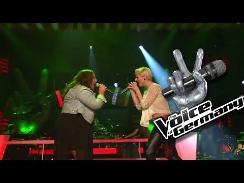 Irgendwie, Irgendwo, Irgendwann – Janina el Arguioui vs Stephanie Kurpisch | The Voice 2014 | Battle