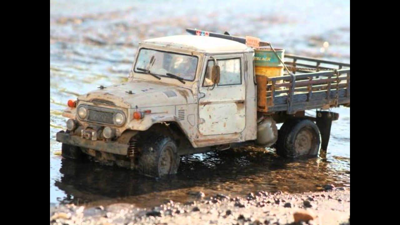 Rc Toyota Land Cruiser Fj45 4x4 Ota Brasil Youtube