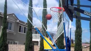 Basketball shooting gun