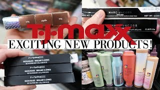 TJ MAXX SHOP WITH ME | EXCITING NEW PRODUCTS | MARC JACOBS, KEVIN AUCOIN, MAC | Makinze Lee