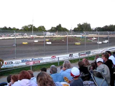 fwd heat race warren county speedway 8-29-09