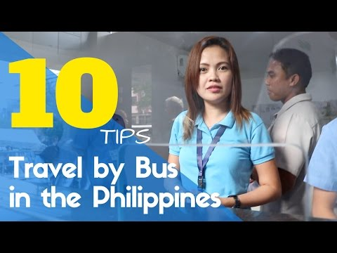 Bus Travel Guide and Tips | Manila Philippines