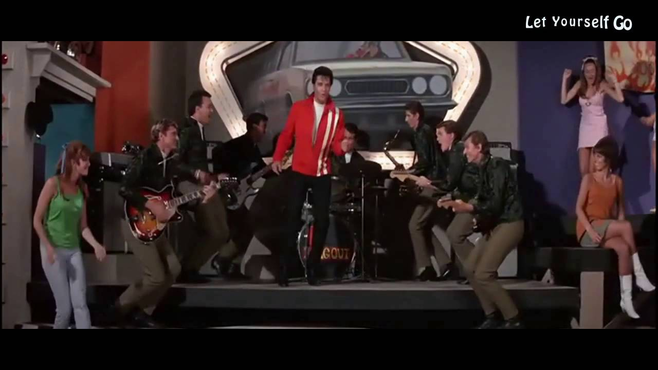 elvis presley let yourself go youtube