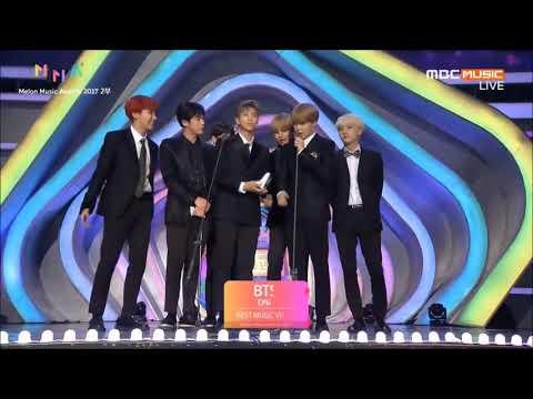 [VIETSUB] 171202 BTS - Best Music Video Award @ Melon Music Awards 2017