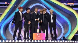 [VIETSUB] 171202 BTS - Best Music Video Award @ Melon Music Awards 2017