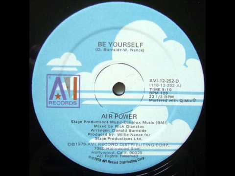 Air Power - Be Yourself - 1979